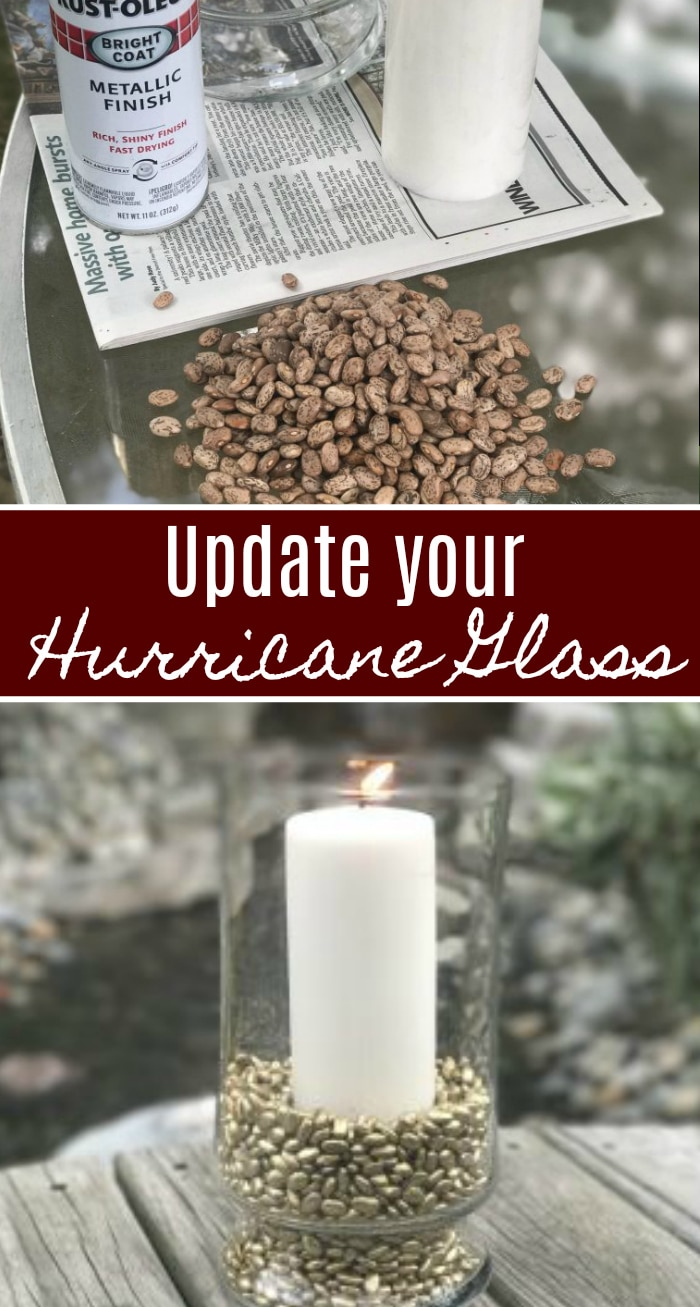 Update the look of your Hurricane Glass with this inexpensive upgrade!