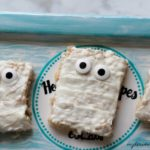 Mummy Rice Krispies are super fun and easy to make! Enjoy them with your family tonight.