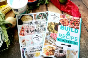 My Heavenly Recipes Weekly Meal Planner and Build a Recipe Cookbook