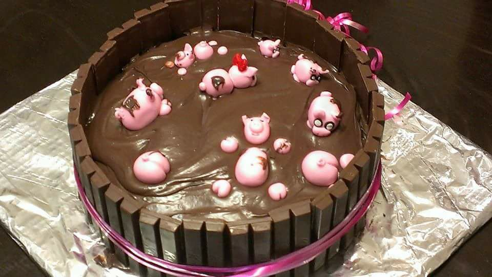 Brighten up anyone's day with a homemade Pig Cake. It's a lot easier than you think!