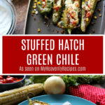 You have got to try the flavors that this Stuffed Hatch Green Chile contains. It's mind blowing!