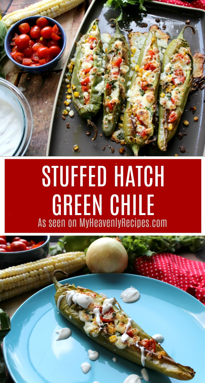 I can't wait for you to try this Stuffed Hatch Green Chile recipe. The flavors are out of this world and are a perfect appetizer, snack or dinner recipe!