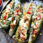 The flavors that you find in this Stuffed Hatch Green Chile will blow your mind!