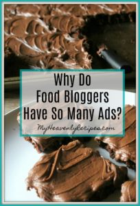 Why Do Food Bloggers Have So Many Ads