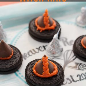 No-Bake Witch Hat Cookies + Video