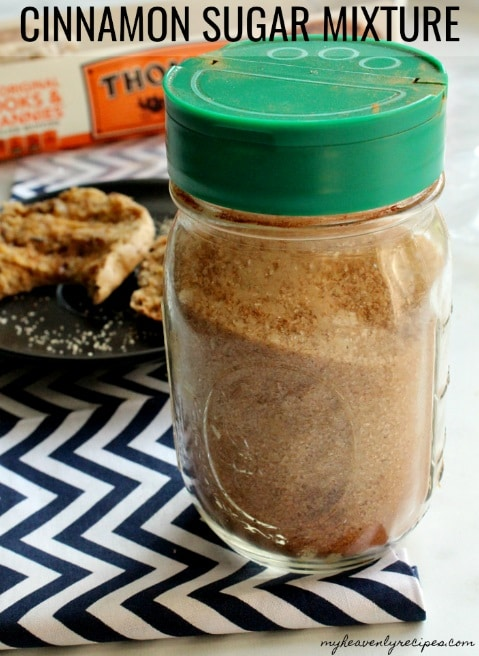 Cinnamon Sugar Mixture makes a great gift for any occasion.