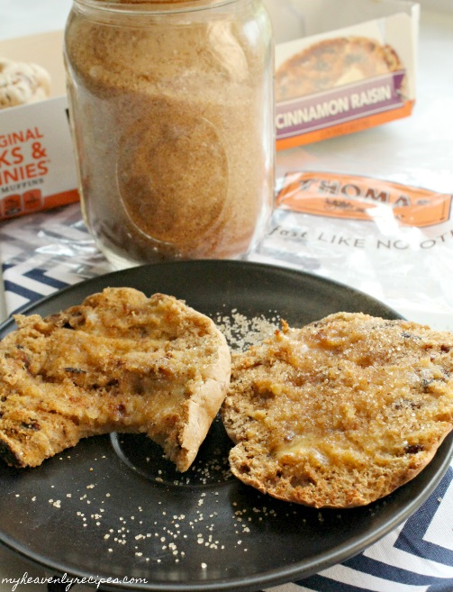 Cinnamon Sugar Mixture is made in less than 5 minutes! What's not to love?