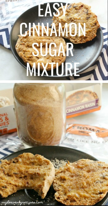 Cinnamon Sugar Mixture is one of those kitchen staples that we can't be without in our home!