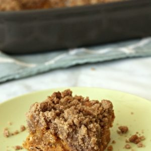 Pumpkin Coffee Cake + Video