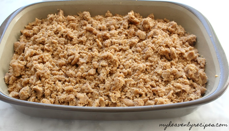 This Pumpkin Coffee Cake needs a homemade struesel topping. It just puts it over the top!