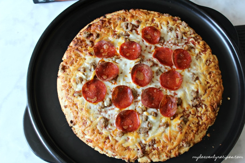 Red Baron Sausage and Pepperoni Pizzas conquer mealtime on busy week nights.