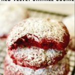 Red Velvet Crinkle Cookies + Video