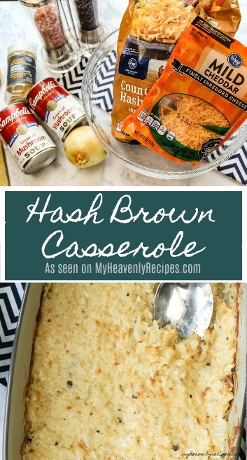 Hash Brown Casserole is a great comfort food classic. Whether you enjoy with Breakfast, Brunch or Brinner it's sure to be a crowd pleaser!