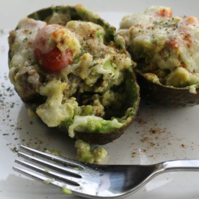 yummy stuffed avocado breakfast