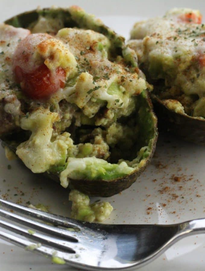 yummy stuffed avocado