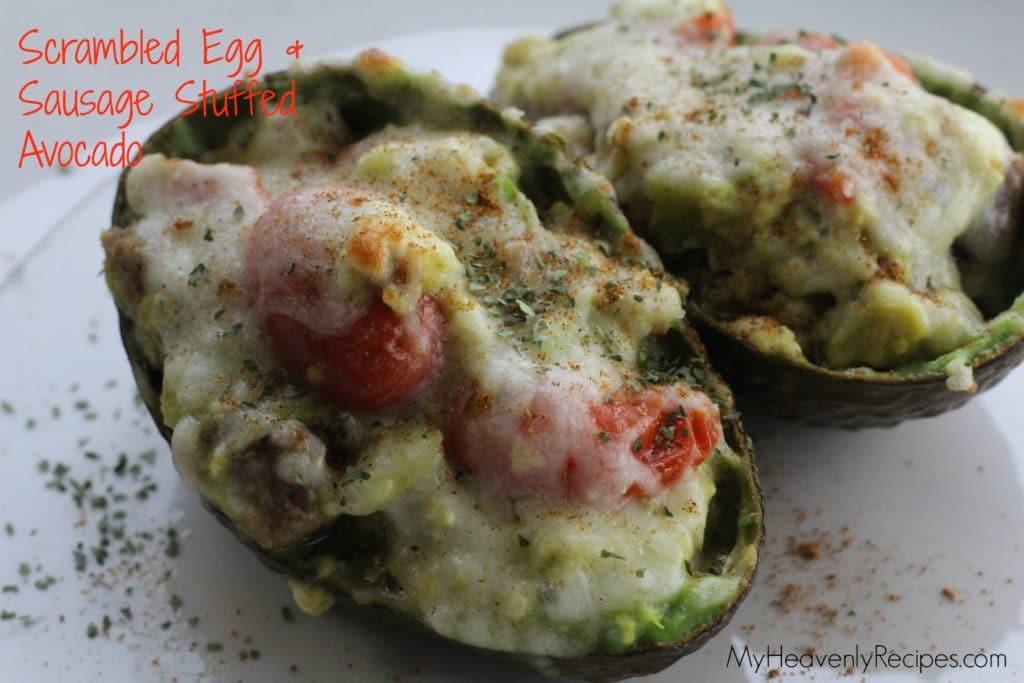 delicious stuffed avocado recipe