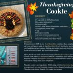Thanksgiving Day Cookie Cake