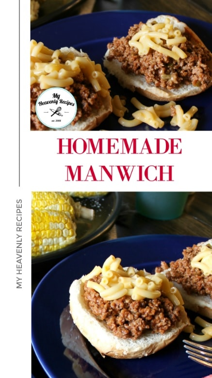 This is the BEST Homemade Recipe! We've been making it for years and all love it! Once you make this recipe you'll forget all about the canned stuff! #manwich #sloppyjoe #sandwich #sloppyjoes #quickdinner #myheavenlyrecipes