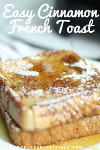 easy cinnamon french toast recipe featured image
