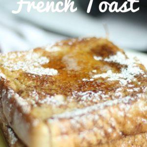 TT's Simple Cinnamon French Toast + Video