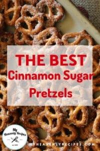 The best Cinnamon Sugar Pretzel recipe featured image