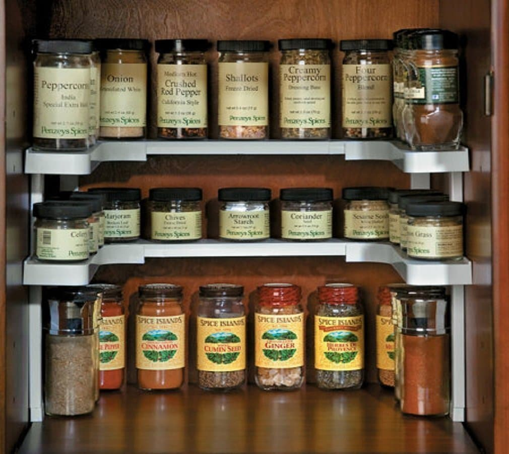 kitchen cabinet spice rack organizer 10 things from that ll seriously organize your 19613