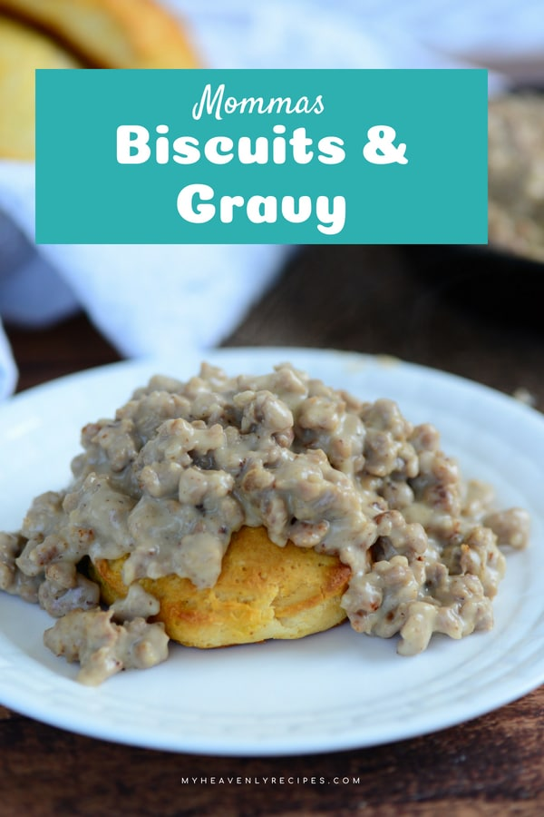 There's nothing better than comfort food. Biscuits and Gravy is a Sunday morning tradition is our house. I hope you'll give this recipe a try this week! #breakfast #recipe #biscuits #gravy