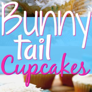 Easy Easter Cupcakes (Bunny Tail Cupcakes) + Video