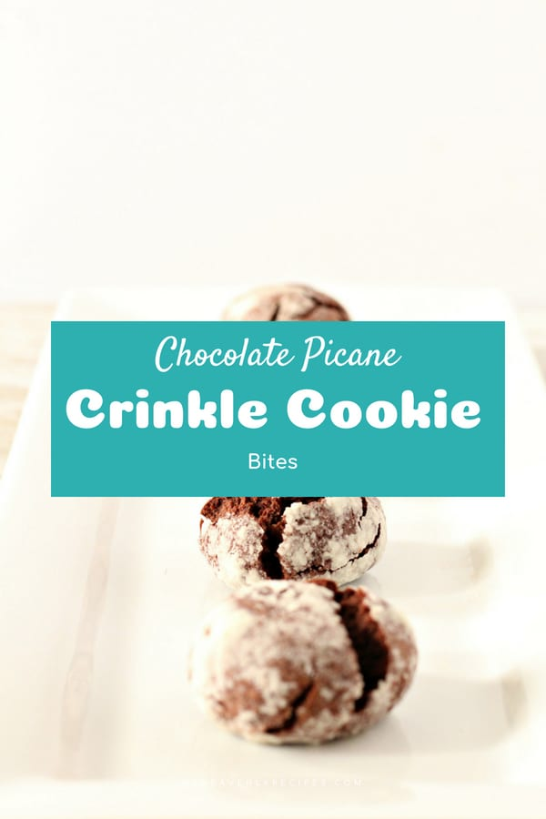 These Chocolate Pecan Crinkle Cookies may require some time before getting to eat them, but they are totally worth the wait!