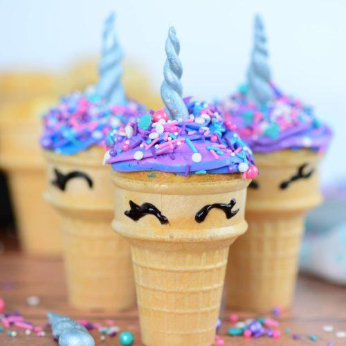 Unicorn Cupcakes Video My Heavenly Recipes