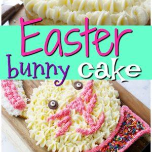 Bunny Cake for Easter Dessert + Video