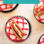 Your kids will love hanging out in the kitchen when you're making these Hot Dog Cupcakes! This is one of those recipes that is fun to get your family involved in on a weekend.