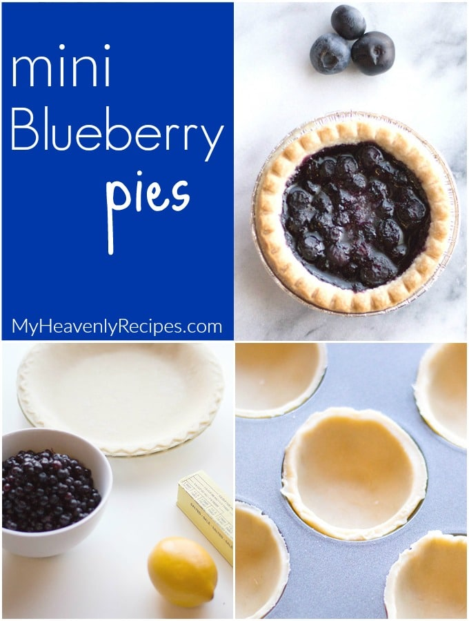 mini blueberry pies image for facebook