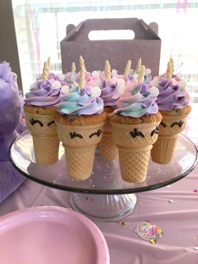 Unicorn Cupcakes Video My Heavenly Recipes