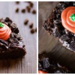 Carrots in the Dirt Easter Brownies