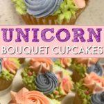 unicorn bouquet cupcakes pinterest image