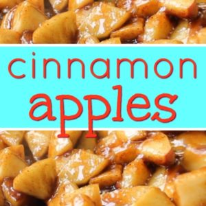 Cracker Barrel Cinnamon Apples + Video