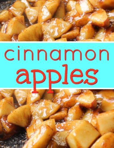 cinnamon apples pinterest and featured image