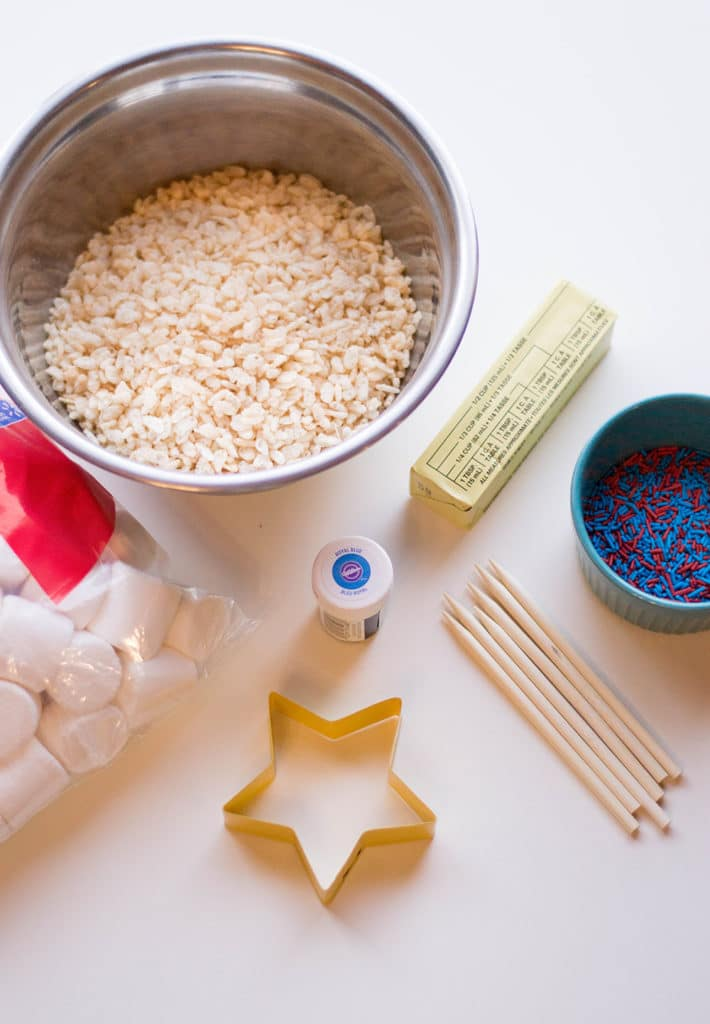 patriotic rice krispies treats ingredients