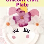 Birthday Party: Unicorn Craft Plate