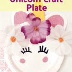 Birthday Party: Unicorn Craft Plate