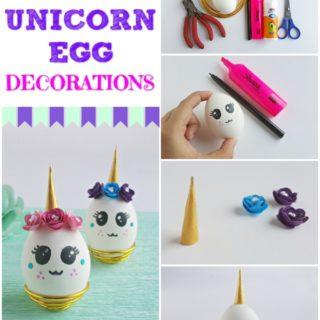 unicorn egg decoration step by step images