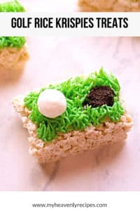 golf rice krispies treats featured image