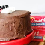 Ice Cream Graduation Cake with Chocolate Ganache + Recipe Video
