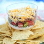 Layered Taco Salad Dip Recipe
