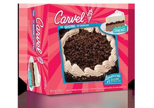 carvel chocolate round ice cream cake