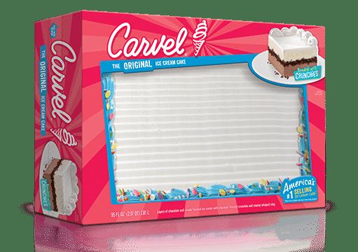 carvel blank sheet cake