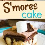 S'mores Cake (Poke Cake)