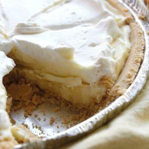 No Bake Banana Cream Pie + Video