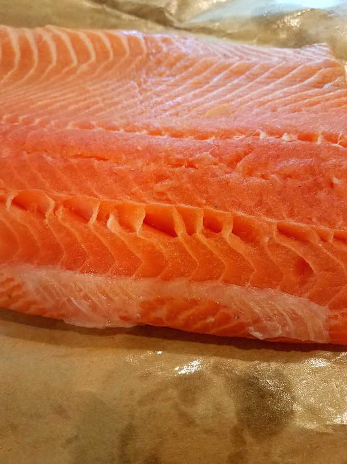 Atlantic salmon is one of the healthiest food out there! Plus, it has that texture that just melts in your mouth -- Mm-mmm!